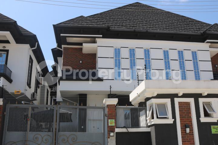 4 bedroom Semi Detached Duplex House for rent Chevy View Estate chevron Lekki Lagos - 4