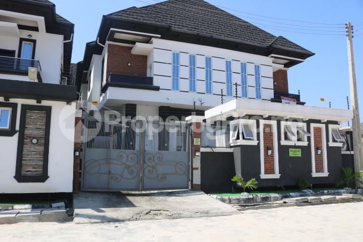 4 bedroom Semi Detached Duplex House for rent Chevy View Estate chevron Lekki Lagos - 2