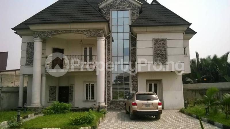 5 bedroom Detached Duplex House for sale Off Peter Odili Road,  Port Harcourt Rivers - 0