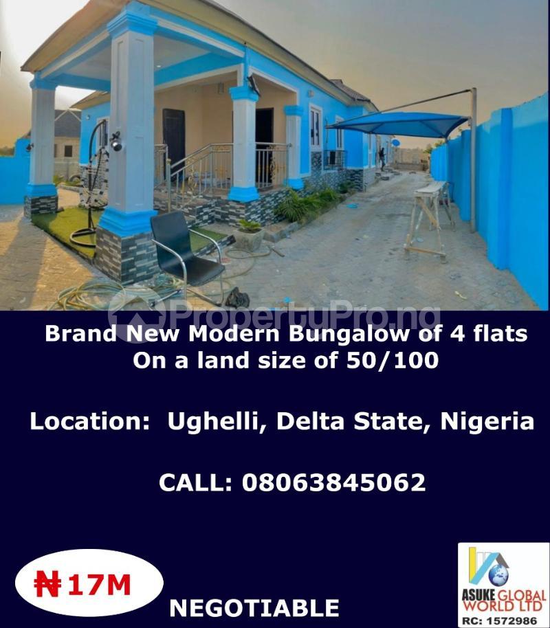 Blocks of Flats House for sale Ughelli Delta state Nigeria Ughelli North Delta - 0