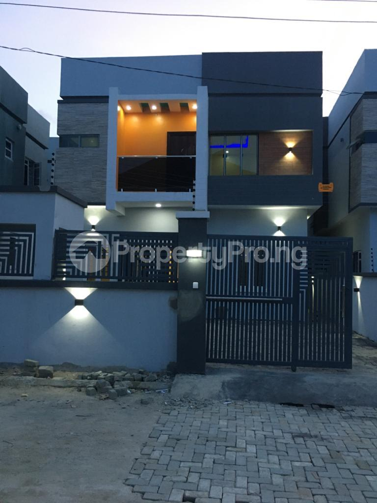 4 bedroom Detached Duplex House for sale In A Secured And Structured Estate Overlooking VGC Lagoon, behind Ajah Modern market, Ajah Lagos - 0