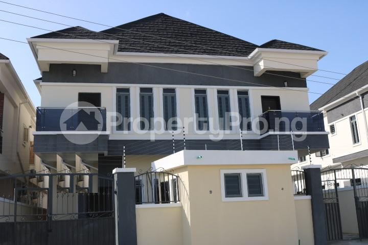 4 bedroom Semi Detached Duplex House for sale Orchid Estate, By Chevron Lekki Lagos - 1
