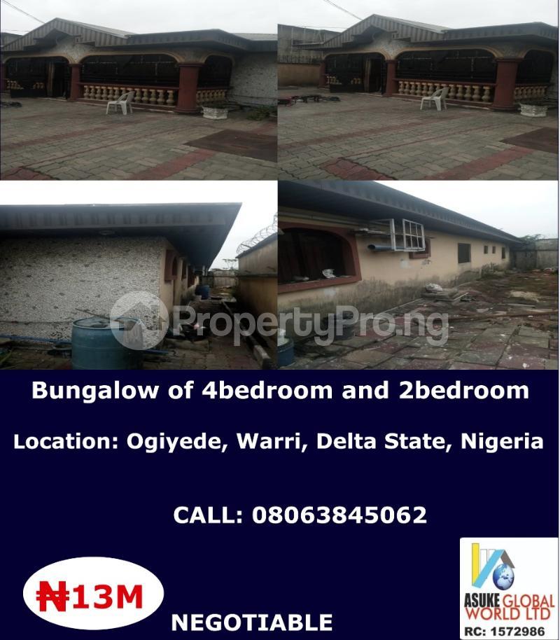 House for sale ogiyede warri Delta state Nigeria Warri Delta - 0