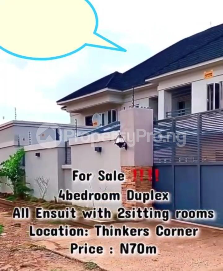 4 bedroom Detached Duplex for sale Thinkers Corner Enugu Enugu - 0