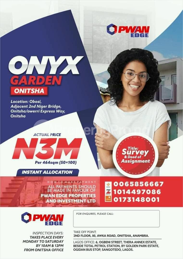 Mixed   Use Land Land for sale Obosi Onitsha South Anambra - 0
