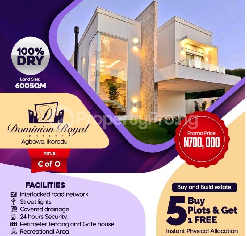 Residential Land Land for sale Agbowa Ikorodu Ikorodu Ikorodu Lagos - 3