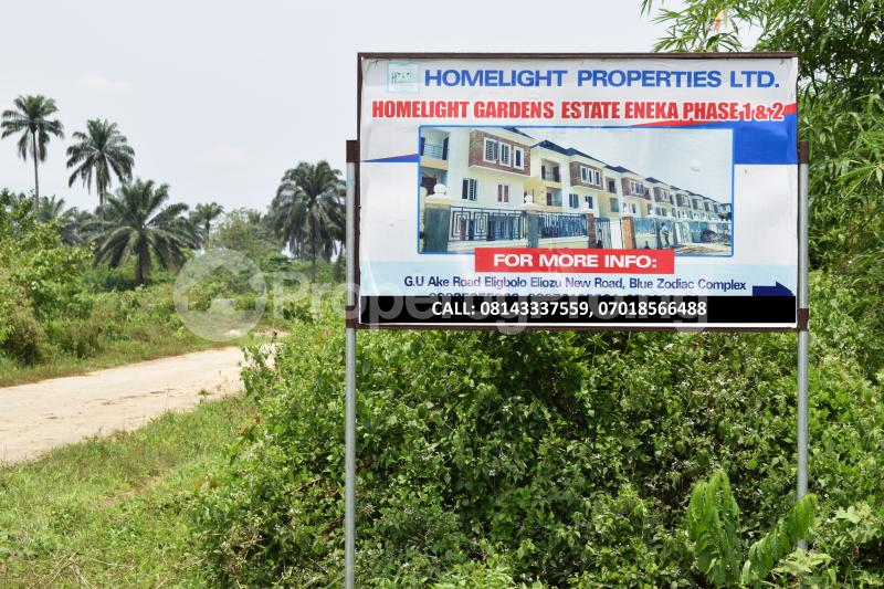 Land for sale Along Eneka-Igwuruta Road, Army Range Eneka Port Harcourt Rivers - 0