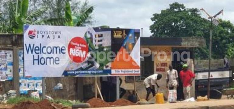 Residential Land for sale Vip Gardens, Boystown, Opposite Abesan Estate, Lagos Boys Town Ipaja Lagos - 0