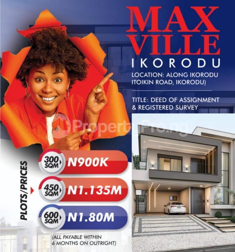 Land for sale Itokin Road Ikorodu Ikorodu Ikorodu Lagos - 0