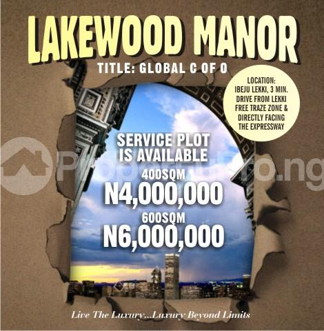 Land for sale Free Trade Zone Ibeju-Lekki Lagos - 0