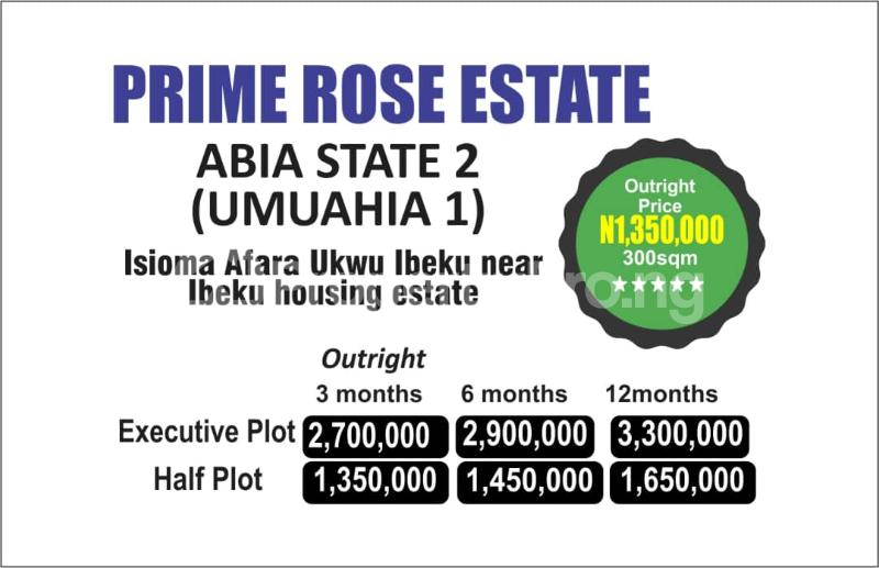 Mixed   Use Land Land for sale Ibeku Umuahia North Abia - 0