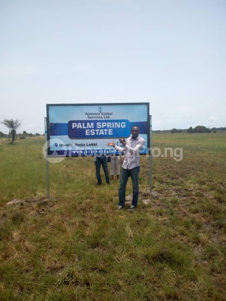 Serviced Residential Land Land for sale Ibeju Agbe Town, Near Pan Atlantic University, Eleganza Industrial Estate and The New Epe International Airport Alatise Ibeju-Lekki Lagos - 0