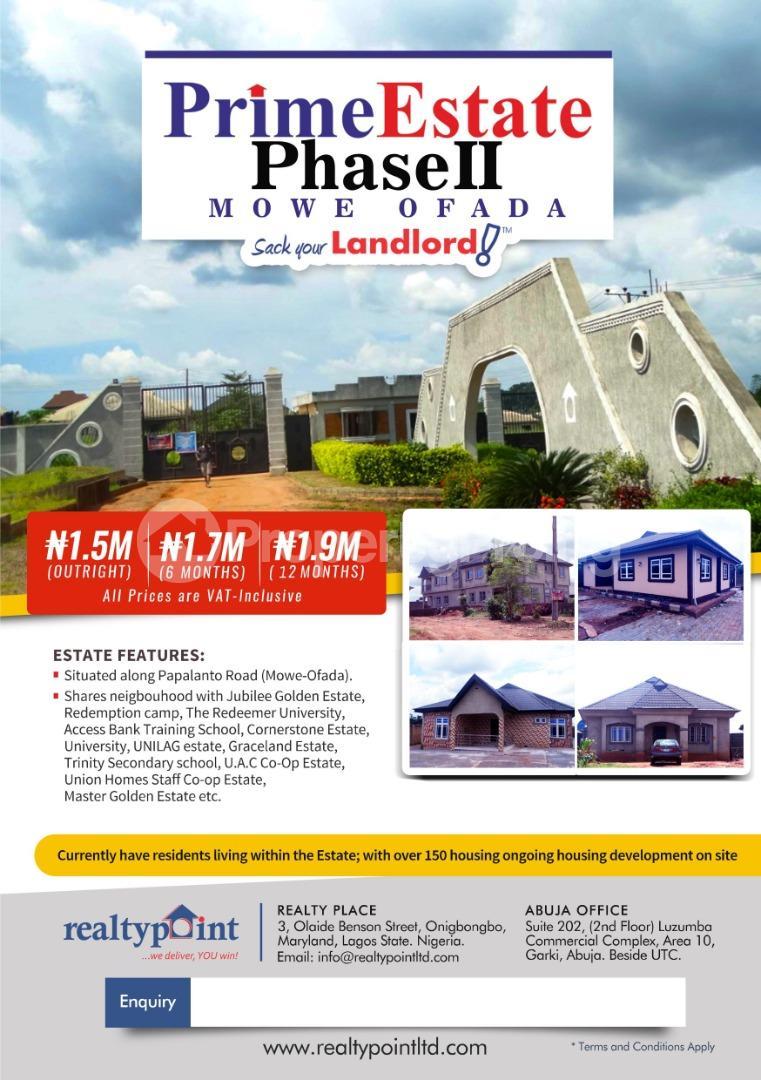 Land for sale Agbara-Igbesa Ogun - 0