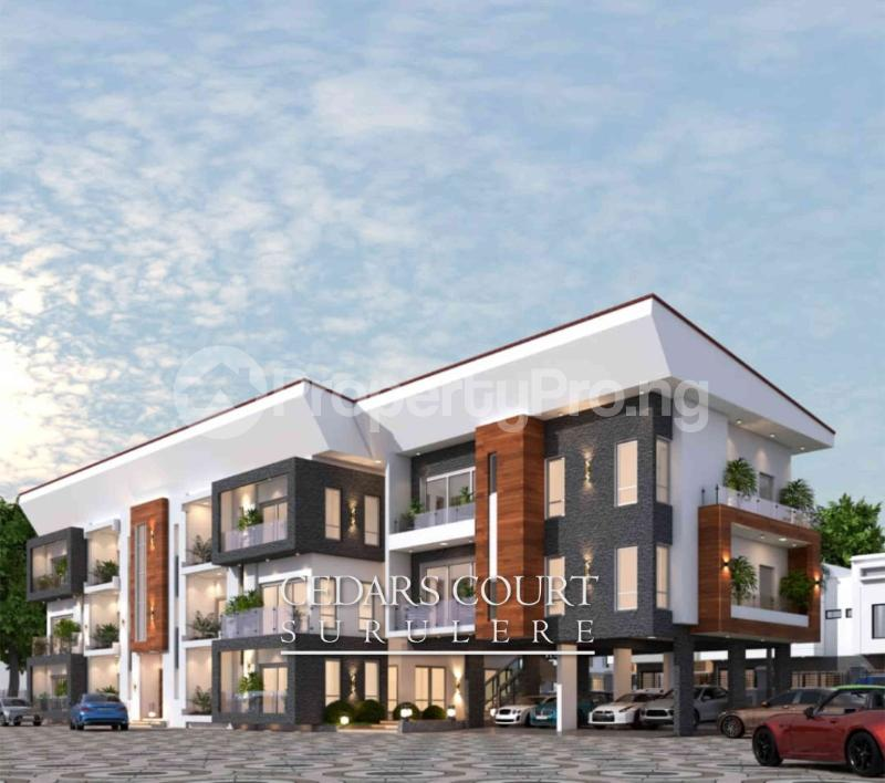 3 bedroom Shared Apartment Flat / Apartment for sale . Adelabu Surulere Lagos - 2