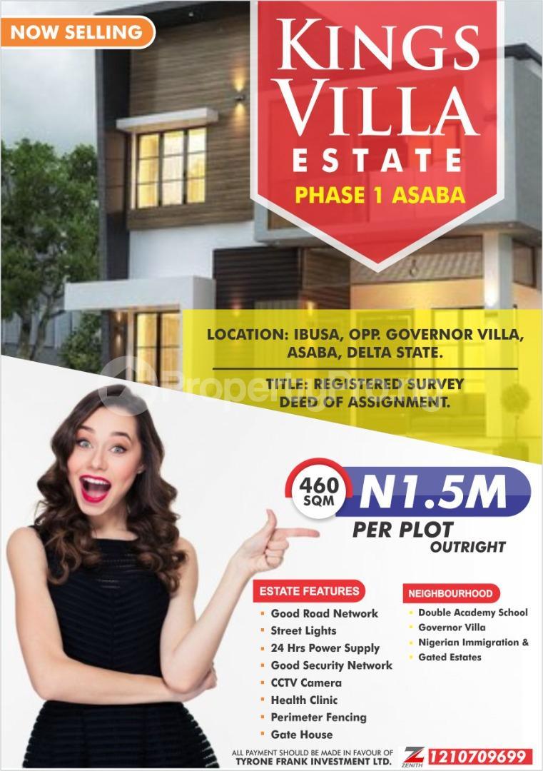 Mixed   Use Land Land for sale Kings Villa Estate Ibusa Asaba Asaba Delta - 0