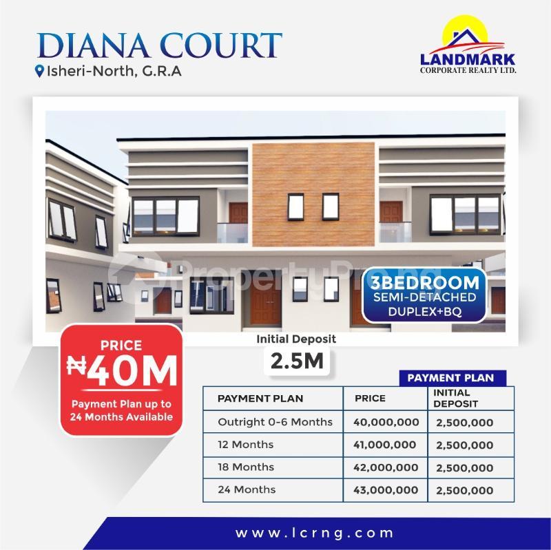 4 bedroom Detached Duplex for sale Queen's Garden Annexii, Isheri North Gra Agidingbi Ikeja Lagos - 1