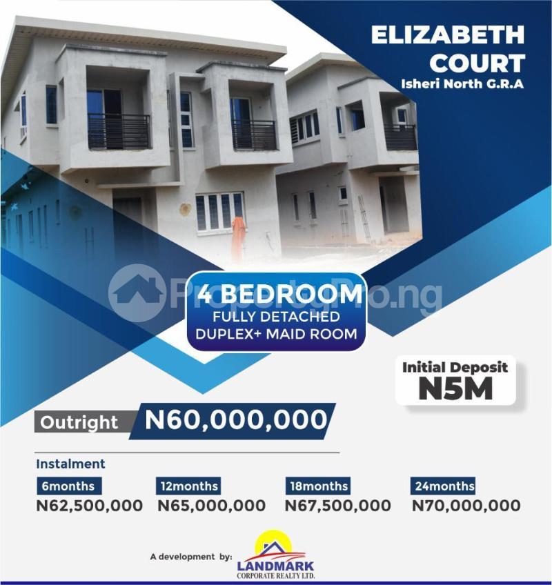 4 bedroom Detached Duplex for sale Queen's Garden Annexii, Isheri North Gra Agidingbi Ikeja Lagos - 0