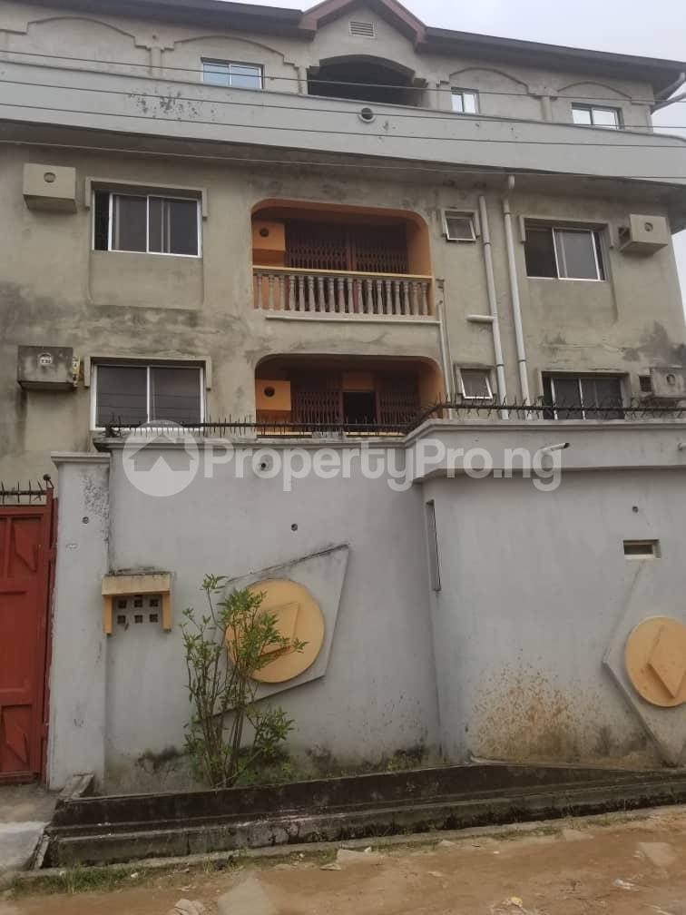 Block of Flat for rent Wemimo Oshinaike street okota Okota Lagos - 1