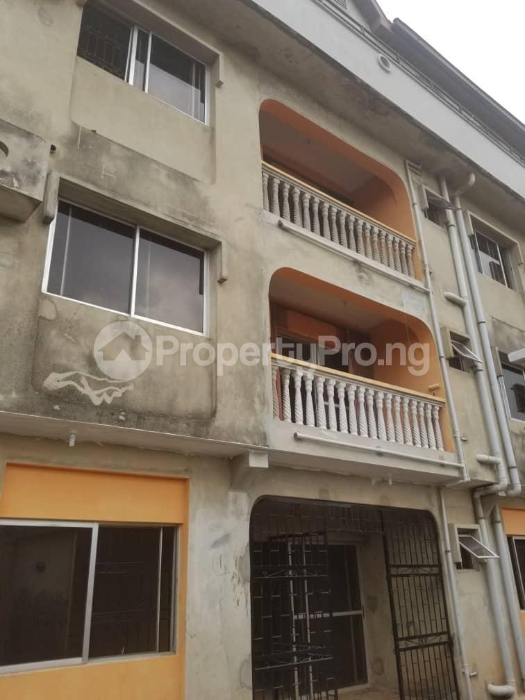 Block of Flat for rent Wemimo Oshinaike street okota Okota Lagos - 2