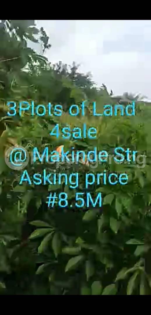 Residential Land for sale Makinde Street, Gra Ondo City Ondo West Ondo - 0