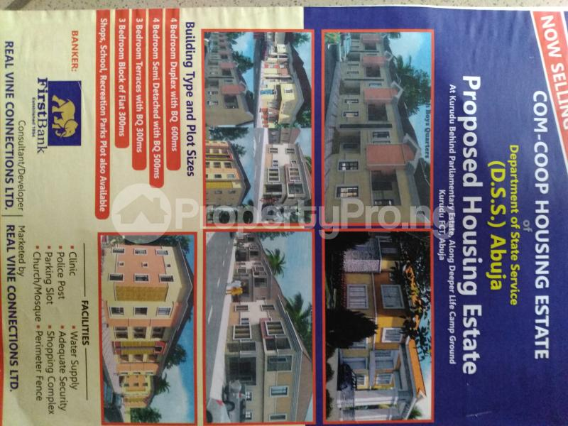 10 bedroom Serviced Residential Land Land for sale Behind deeper life camp, kurudu Kurudu Abuja - 0