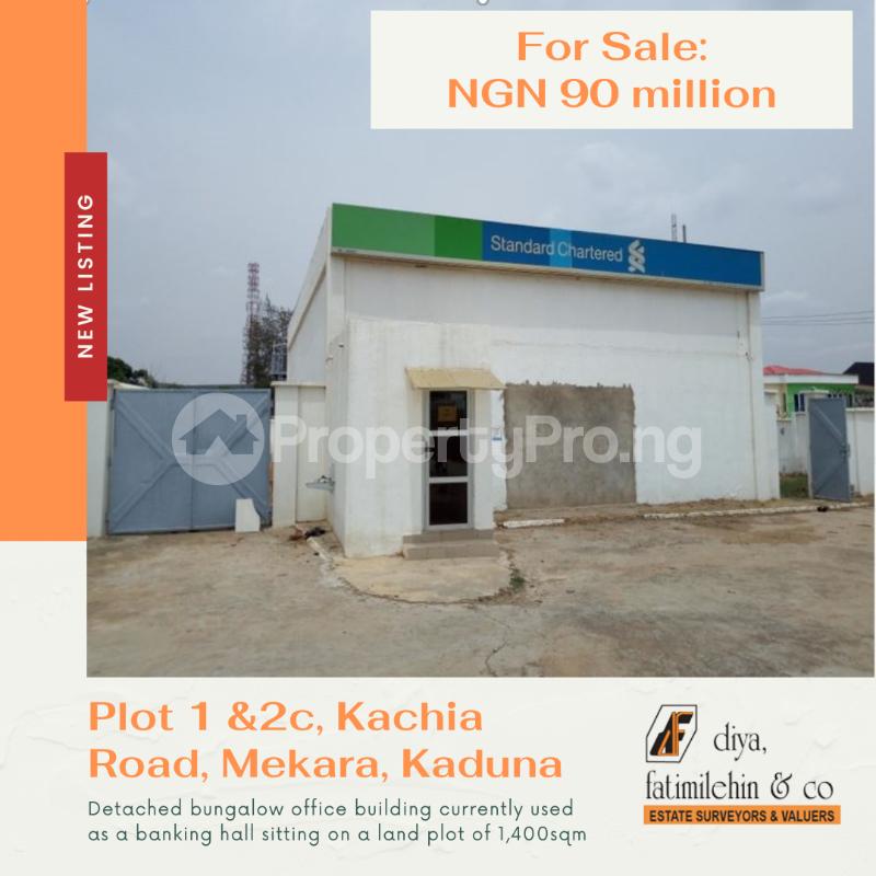 Office Space for sale Plot 1 And 2c Kachia Road, Mekara Kaduna South Kaduna - 0