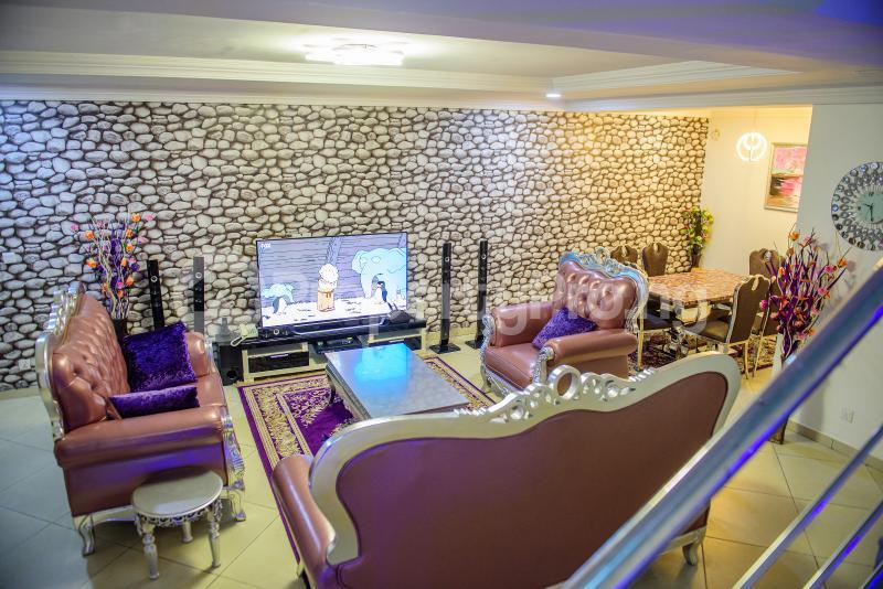 4 bedroom Semi Detached Duplex House for shortlet Mekunwen Road, Brains And Hammers Estate, Life Camp Abuja - 0