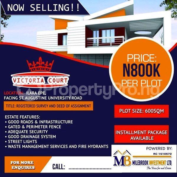 Land for rent Ilara Epe Road Epe Lagos - 0