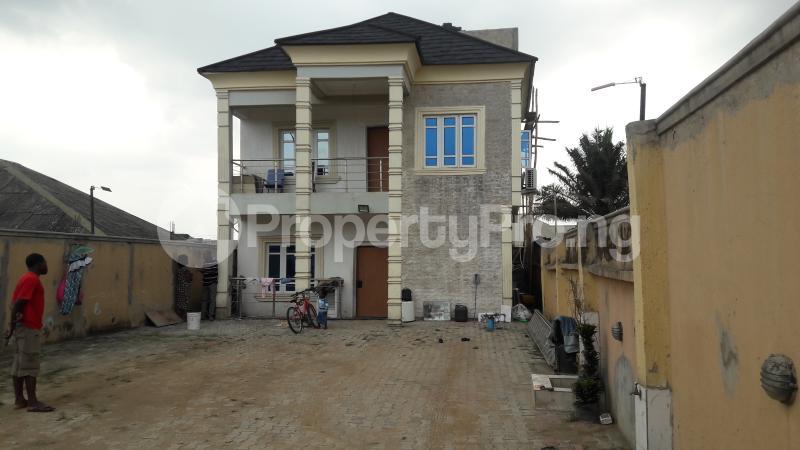 3 bedroom Terraced Duplex House for sale No 10 brenfield street oke alpha magboro ogun state Magboro Obafemi Owode Ogun - 0