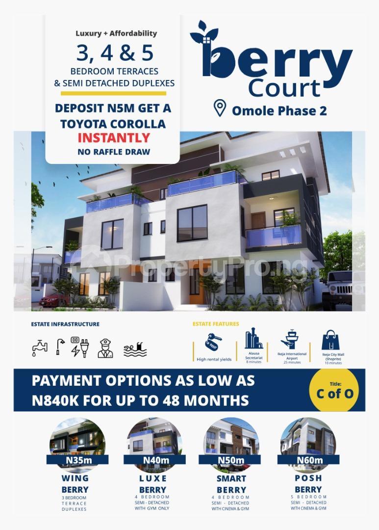 4 bedroom Detached Duplex House for sale Omole Phase 2, Ojodu, Lagos Monastery road Sangotedo Lagos - 0