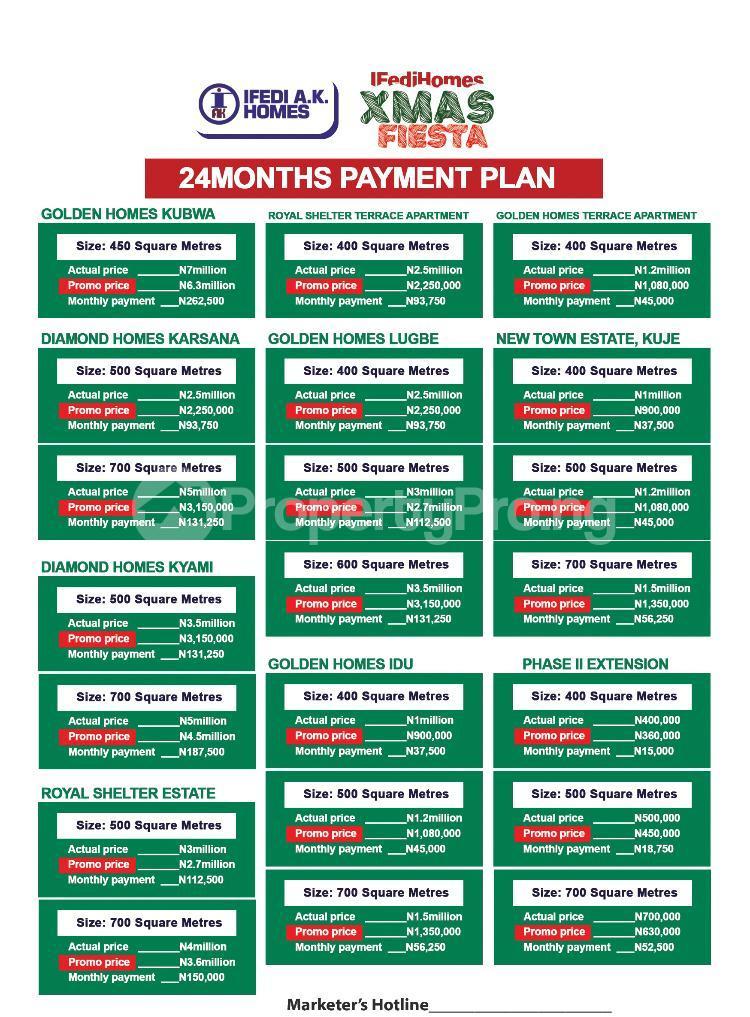 Residential Land Land for sale Along kubwa express way Gwarinpa Abuja - 2