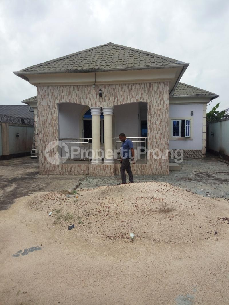 4 bedroom Detached Bungalow House for sale Ozuoba off NTA Rd Magbuoba Port Harcourt Rivers - 1