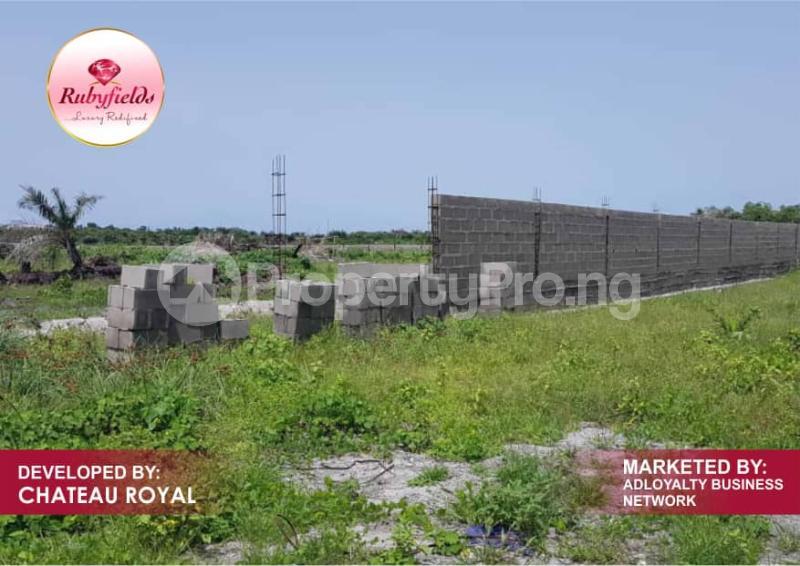 Serviced Residential Land Land for sale Okun Imedu Ibeju Lekki Just By The Tarred Road Orimedu Ibeju-Lekki Lagos - 2