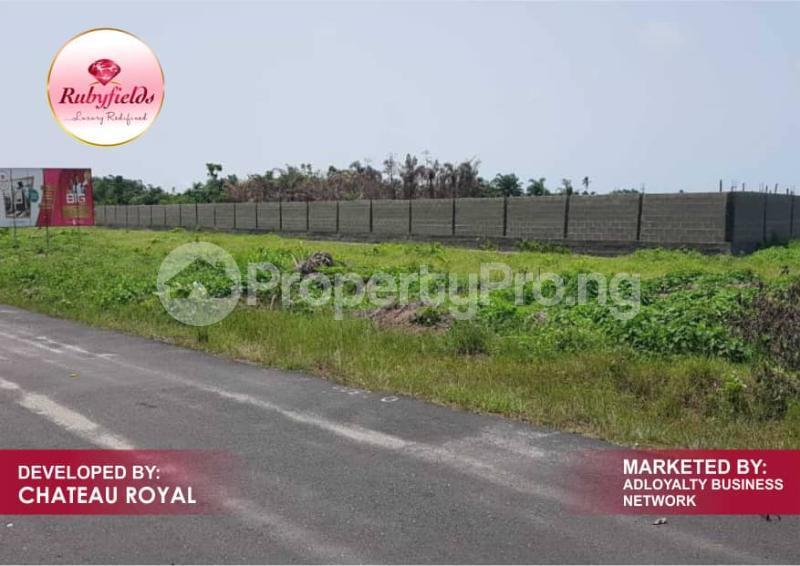Serviced Residential Land Land for sale Okun Imedu Ibeju Lekki Just By The Tarred Road Orimedu Ibeju-Lekki Lagos - 0