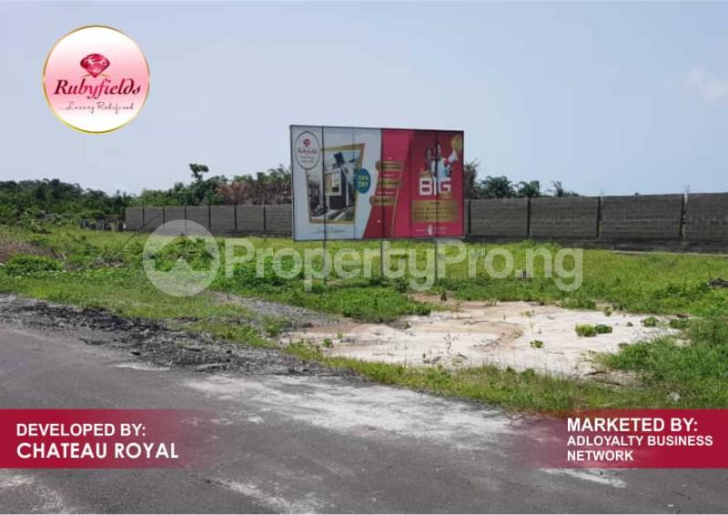 Serviced Residential Land Land for sale Okun Imedu Ibeju Lekki Just By The Tarred Road Orimedu Ibeju-Lekki Lagos - 1