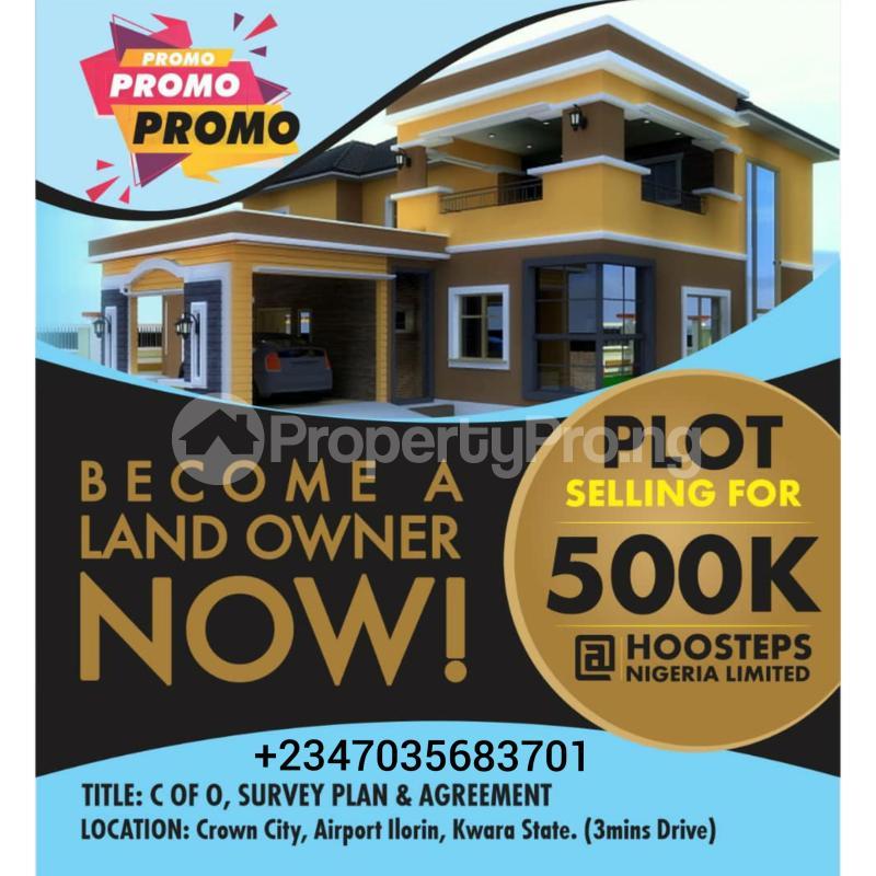 Residential Land Land for sale Airport Road Crown City Budo awe Ilorin Kwara - 0