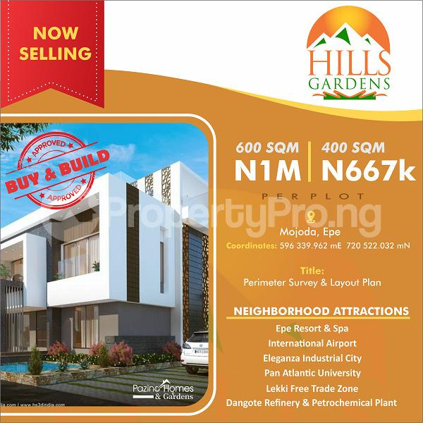 Mixed   Use Land Land for sale Hills Gardens majoda Epe Epe Road Epe Lagos - 0