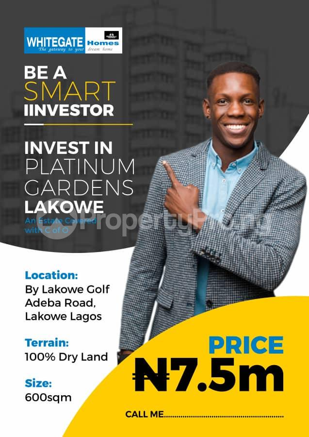 Residential Land Land for sale It shares boundary with Lakowe gulf course Ibeju-Lekki Lagos - 0