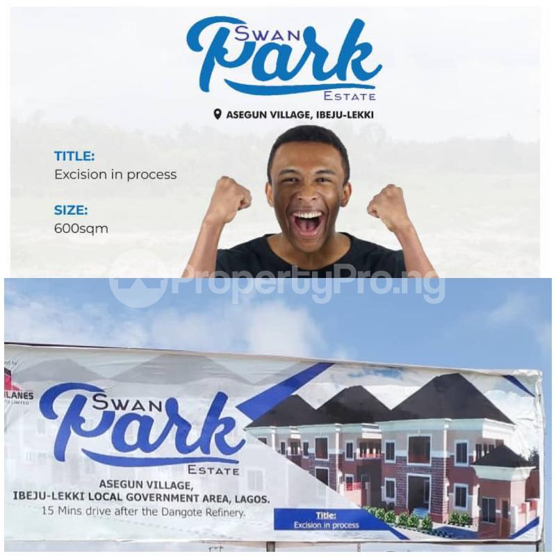 Mixed   Use Land for sale Asegun Village, Ibeju Lekki Local Govt. Area Ibeju-Lekki Lagos - 2