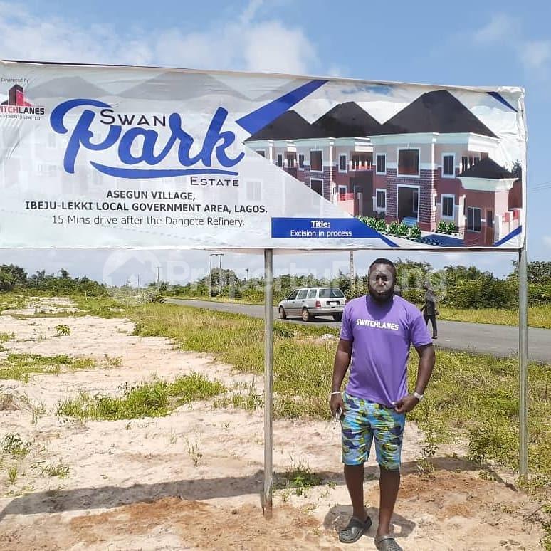 Mixed   Use Land for sale Asegun Village, Ibeju Lekki Local Govt. Area Ibeju-Lekki Lagos - 3