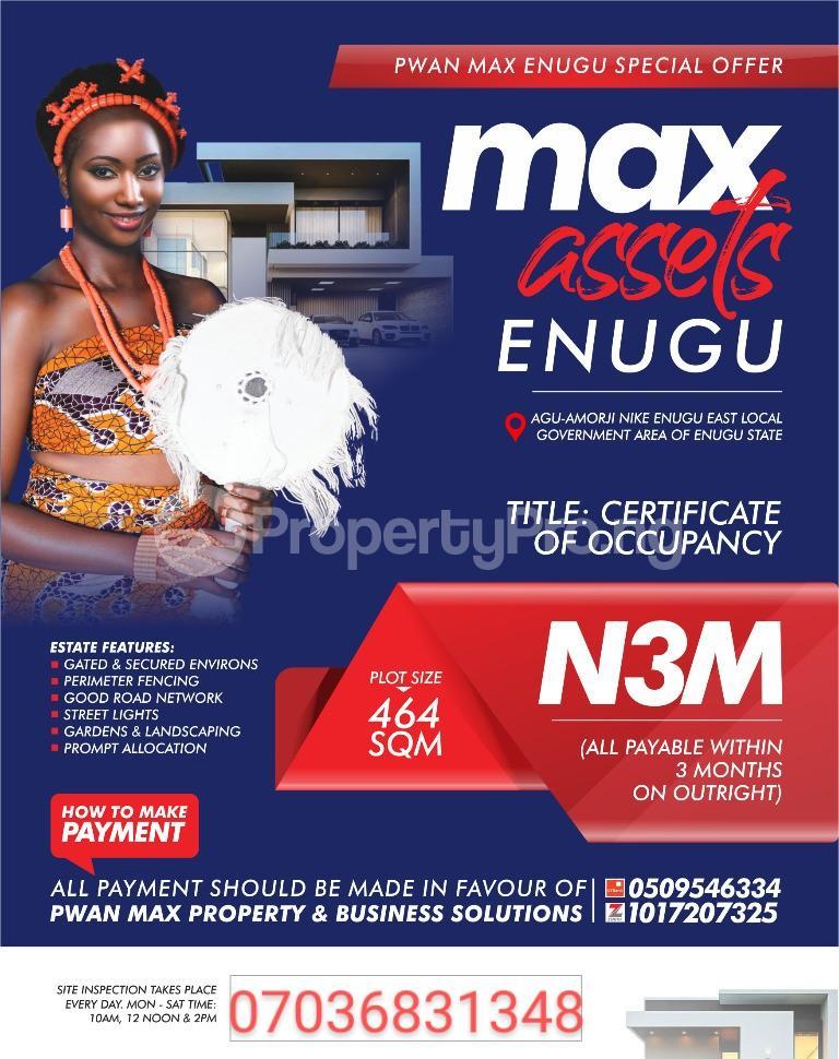Residential Land Land for sale Along Airport Road Enugu Enugu - 0