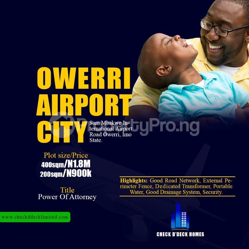 Land for sale Sam Mbakwe International Airport Road Owerri Imo - 0