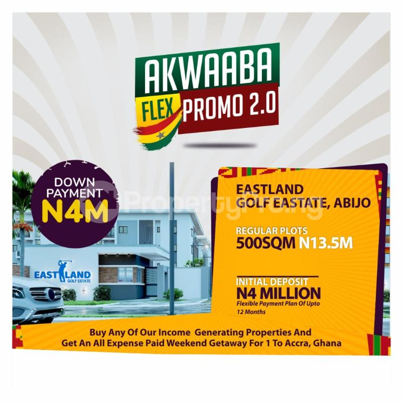 Residential Land for sale Abijo Ajah Lagos - 3