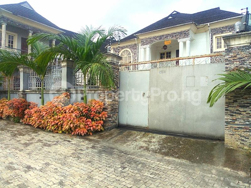 4 bedroom Detached Duplex House for sale Woji  Port Harcourt Rivers - 1