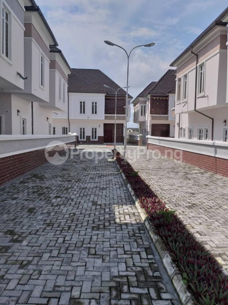 4 bedroom Semi Detached Duplex House for sale Directly opposite Mega Chicken Plaza, Between 2nd tollgate and VGC Ikota Lekki Lagos - 1