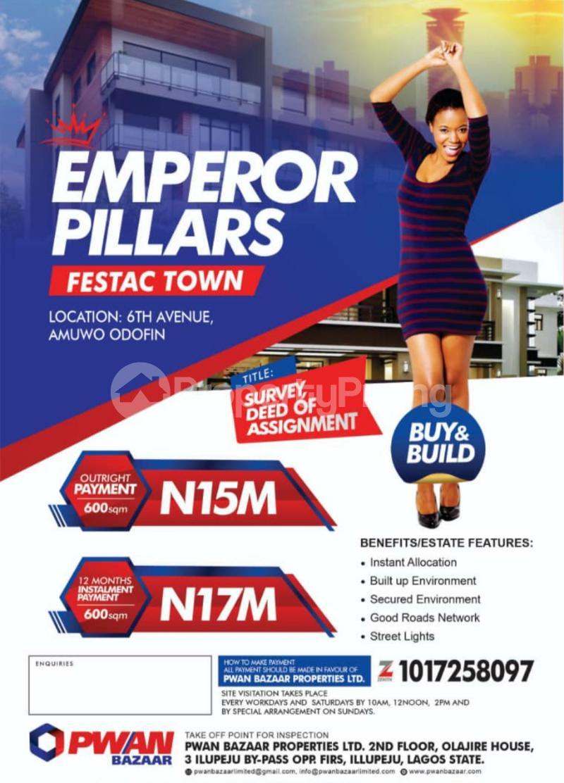 Mixed   Use Land for sale Festac Amuwo Odofin Lagos - 0