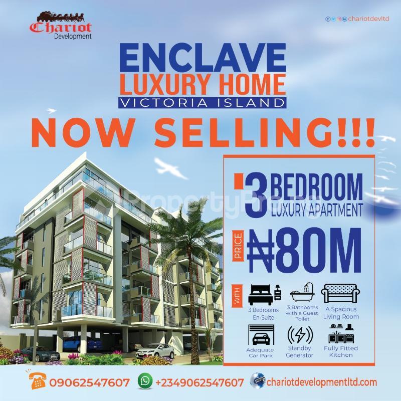 3 bedroom Flat / Apartment for sale Oniru Victoria Island Lagos Island Lagos Island Lagos - 3