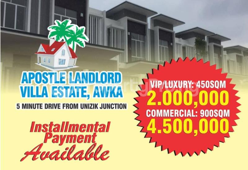Mixed   Use Land Land for sale 5 minutes drive from UNIZIk Junction  Awka North Anambra - 0