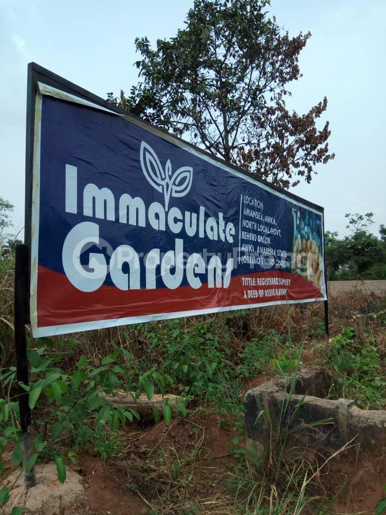 Residential Land Land for sale Amansea behind UNIZIK Awka Anambra State  Awka South Anambra - 0