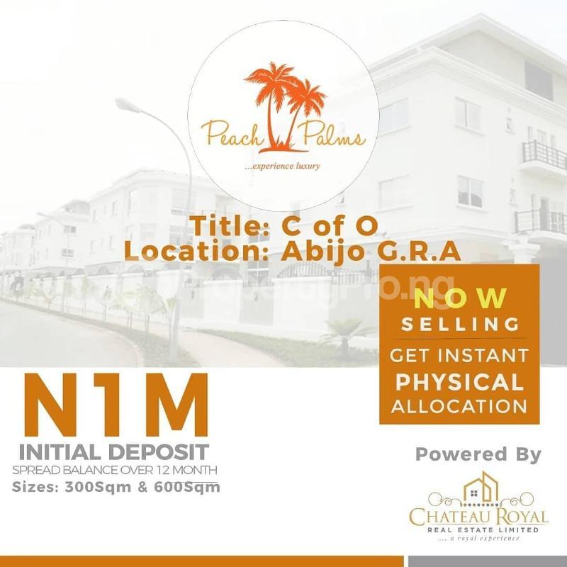 Residential Land for sale Peach Palms Estate, Abijo G. R. A, Abijo Ajah Lagos - 0